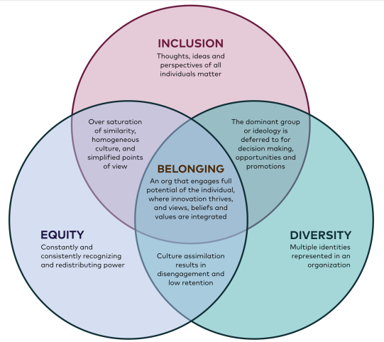 Belonging: A Conversation about Equity, Diversity, and Inclusion